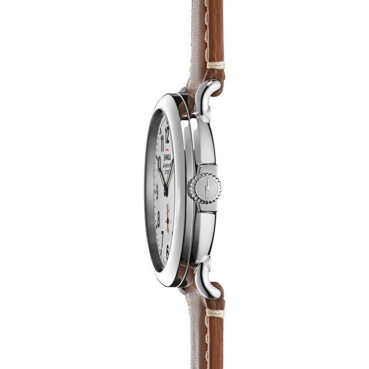 Shinola Runwell 41mm Brown Leather