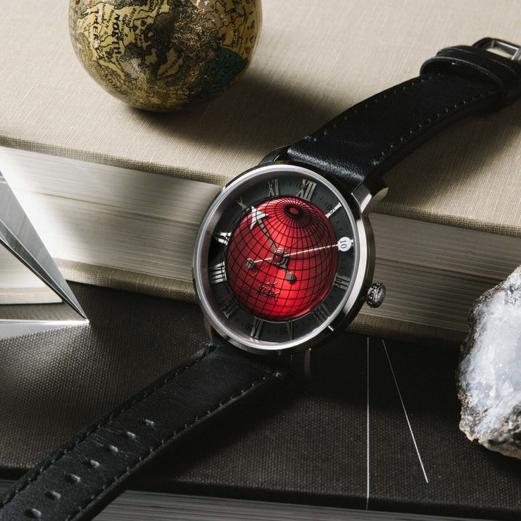 Xeric Atlasphere Automatic Red Limited Edition