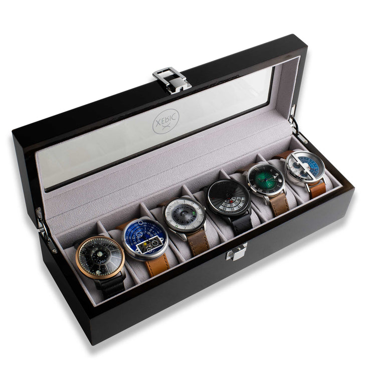 Xeric Six Watch Wood Collectors Case