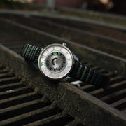 Xeric Cypher Automatic Silver Green Limited Edition