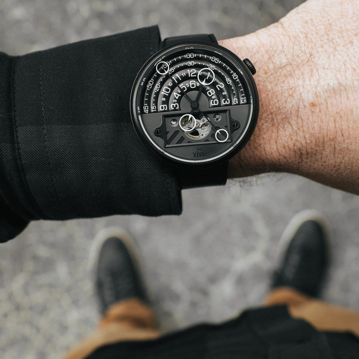 Xeric Halograph II Automatic All Black Limited Edition