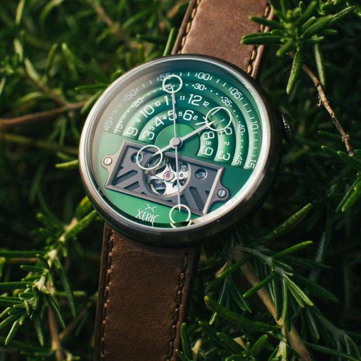 Xeric Halograph II Automatic Green Brown Limited Edition