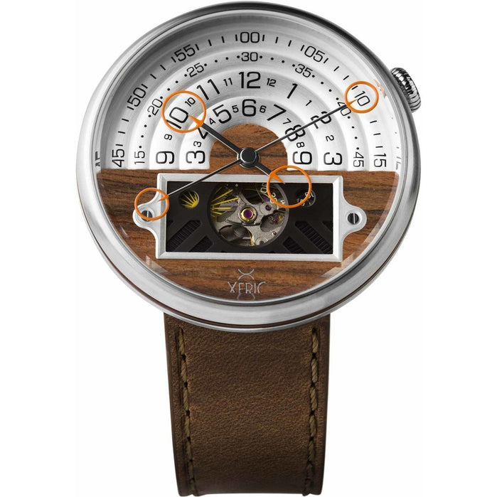 Xeric Halograph II Automatic Rosewood Limited Edition angled shot picture