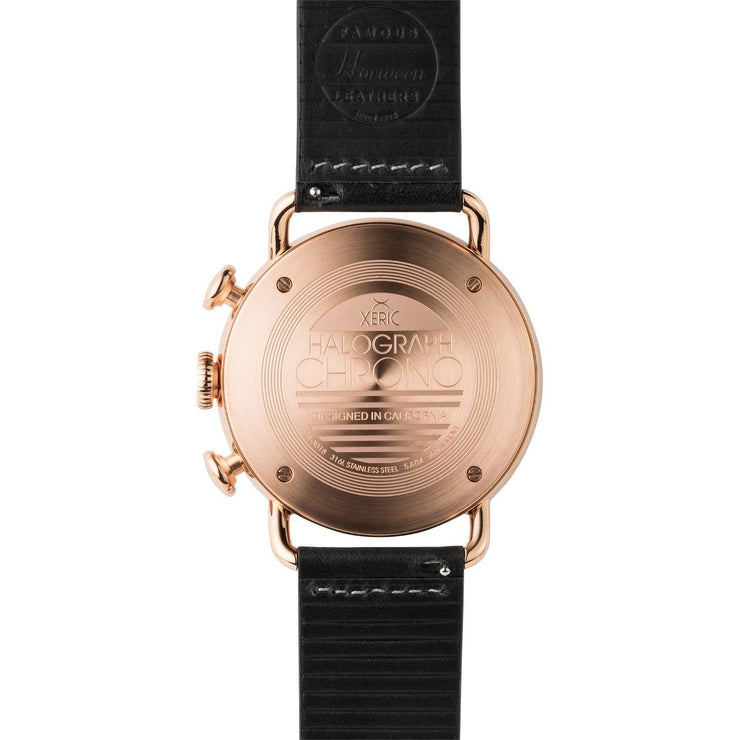 Xeric Halograph Chrono Sapphire Rose Gold Black