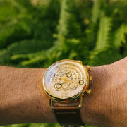 Xeric Halograph Chrono Sapphire Gold