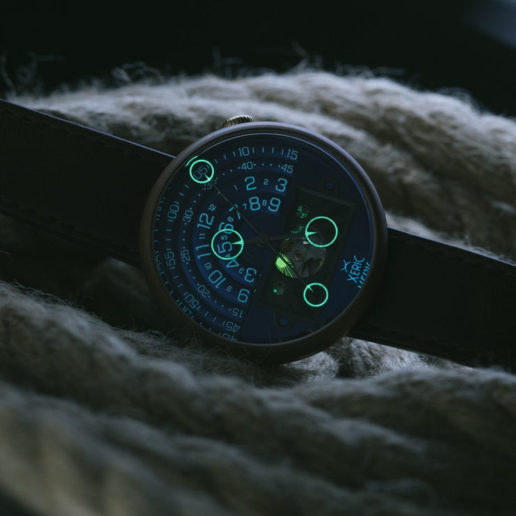 Xeric Halograph II Automatic Bronze Blue Limited Edition