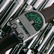 Xeric Leadfoot Automatic Gunmetal Green Limited Edition