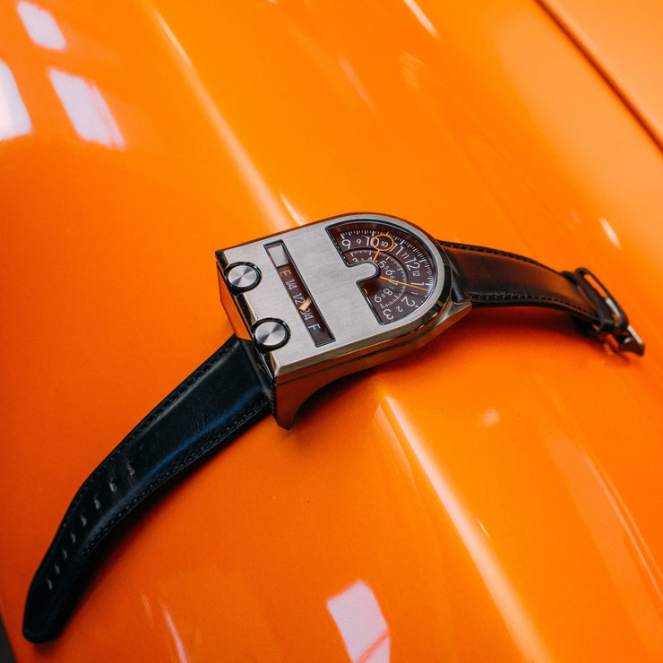 Xeric Leadfoot Automatic Gunmetal Orange Limited Edition