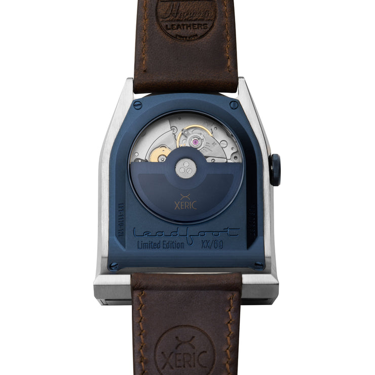 Xeric Leadfoot Automatic Silver Navy Limited Edition