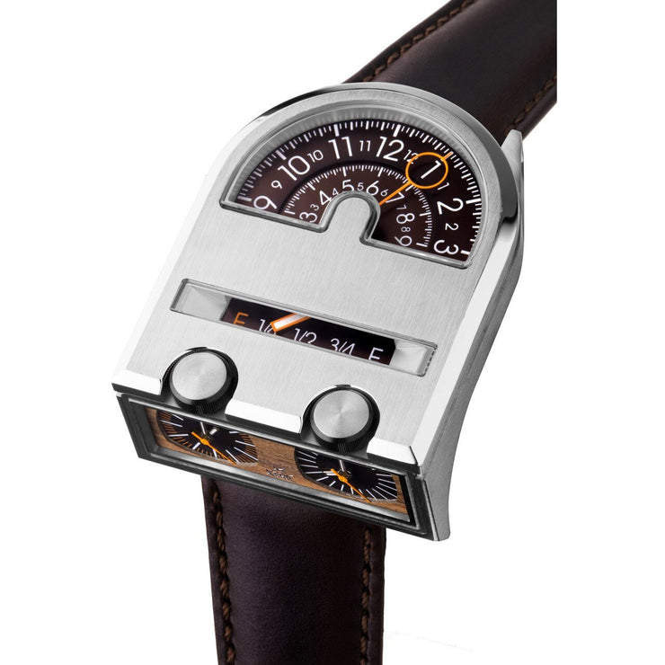 Xeric Leadfoot Automatic Silver Wood Limited Edition