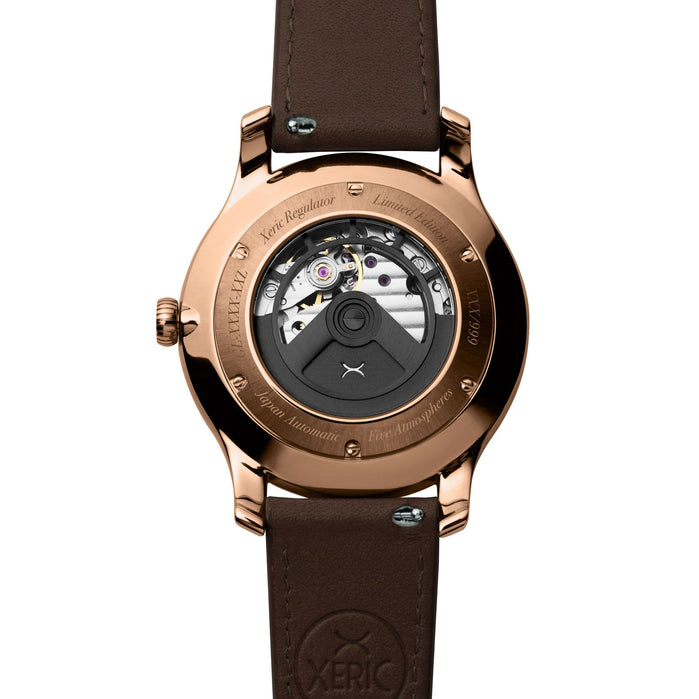 Xeric Regulator Automatic Copper Sky angled shot picture