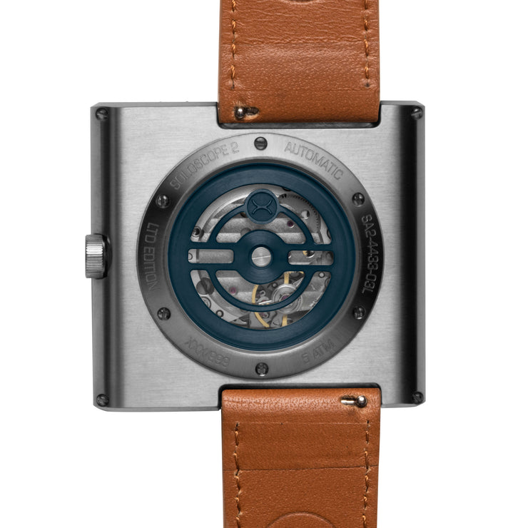 Xeric Soloscope II Automatic Blue Tan Limited Edition