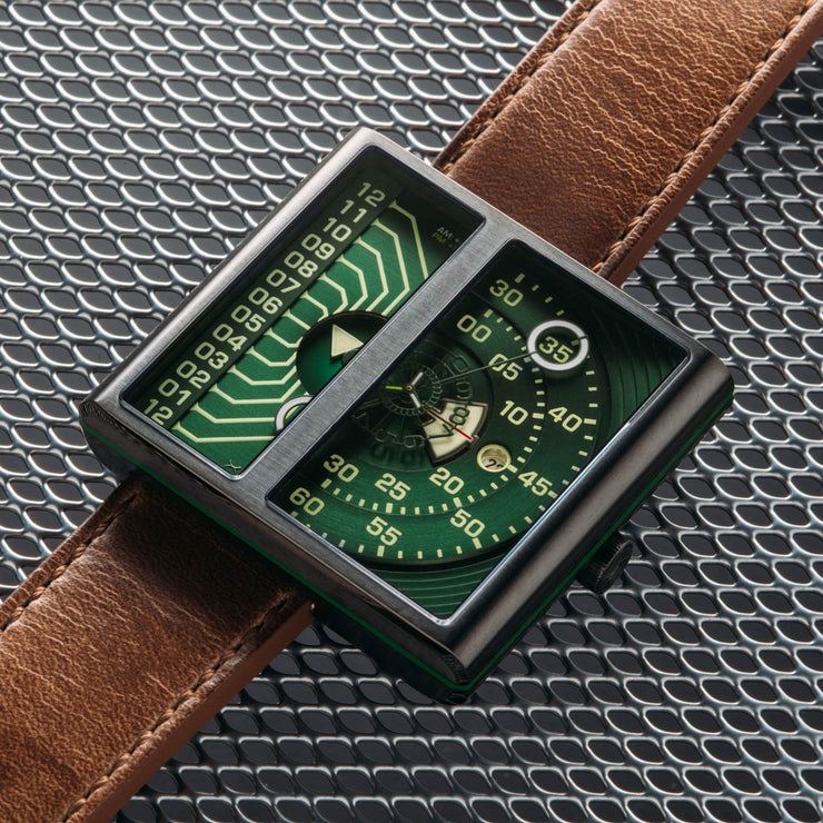 Xeric Soloscope II Automatic Gunmetal Green Limited Edition