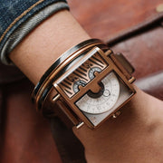 Xeric Soloscope SQ Rose Gold Brown