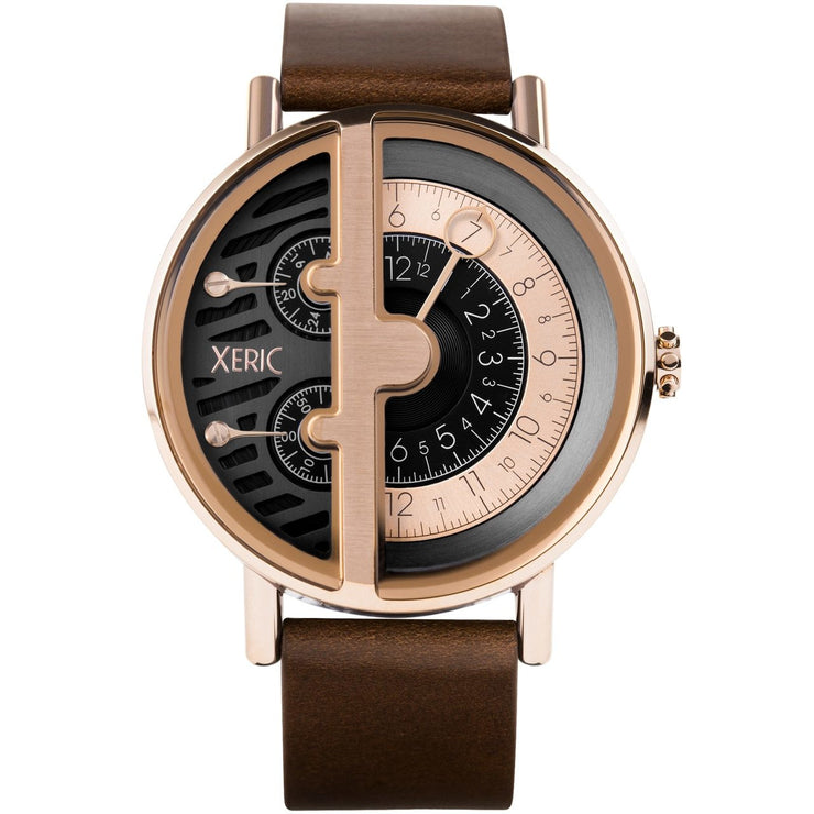 Xeric Soloscope RQ Rose Gold Brown