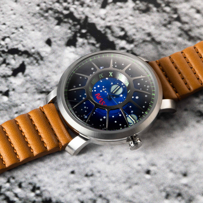 Xeric Trappist-1 Automatic NASA Edition I.S.S. angled shot picture