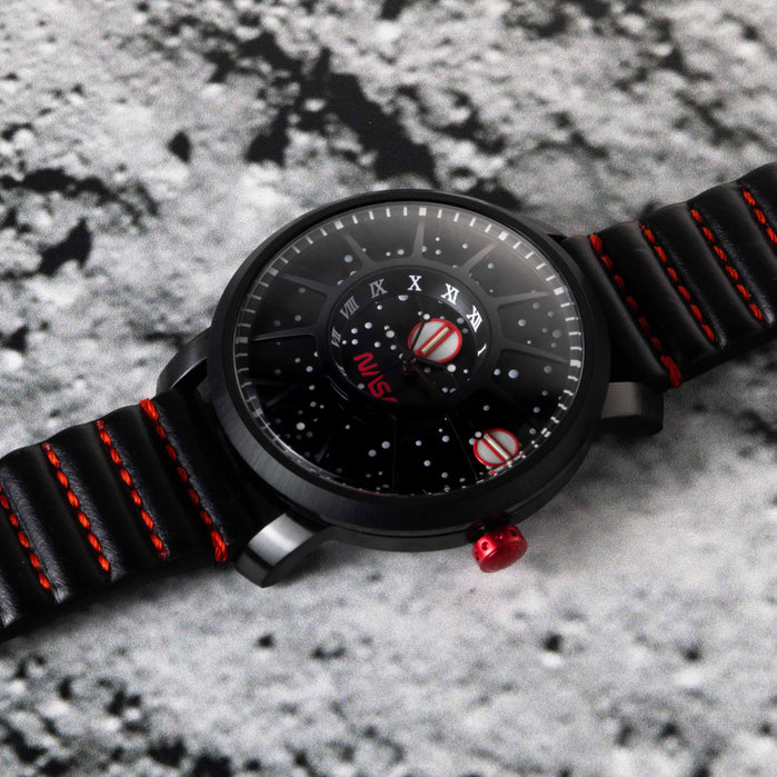 Xeric Trappist-1 Automatic NASA Edition Black Hole angled shot picture