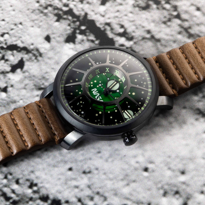 Xeric Trappist-1 Automatic NASA Edition Cosmic Nebula angled shot picture