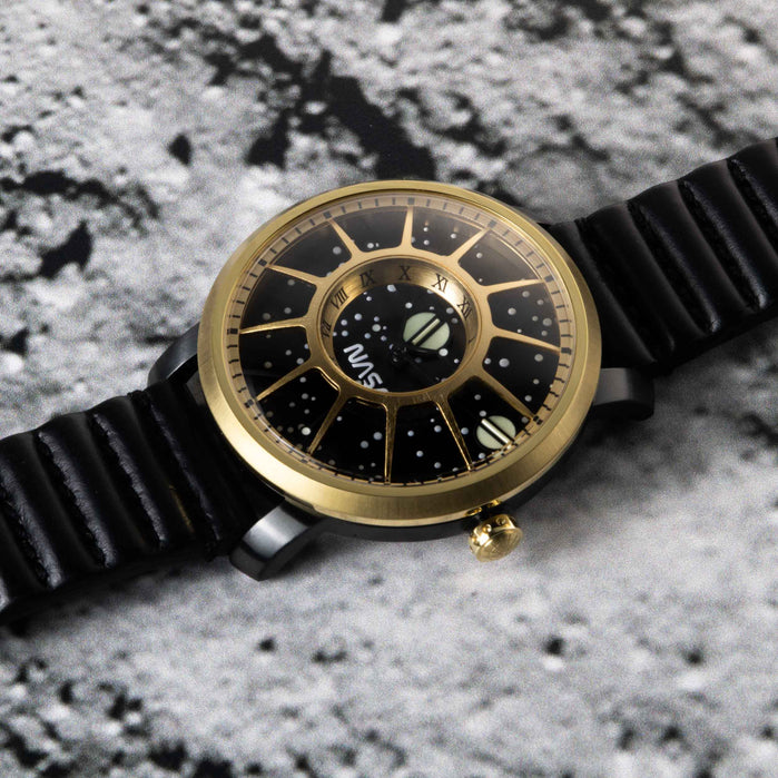 Xeric Trappist-1 Automatic NASA Edition James Webb angled shot picture