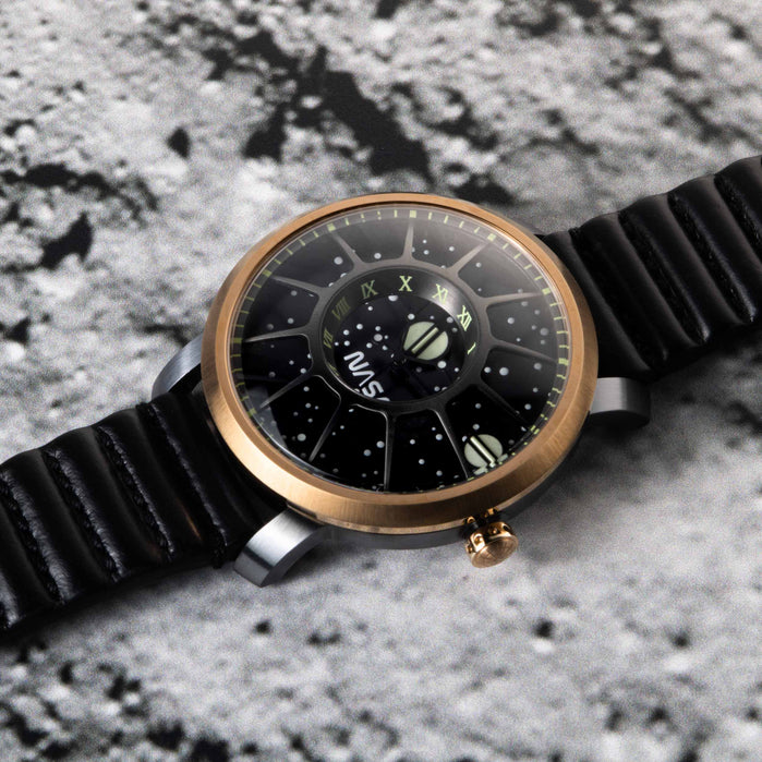 Xeric Trappist-1 Automatic NASA Edition Lunar Module angled shot picture