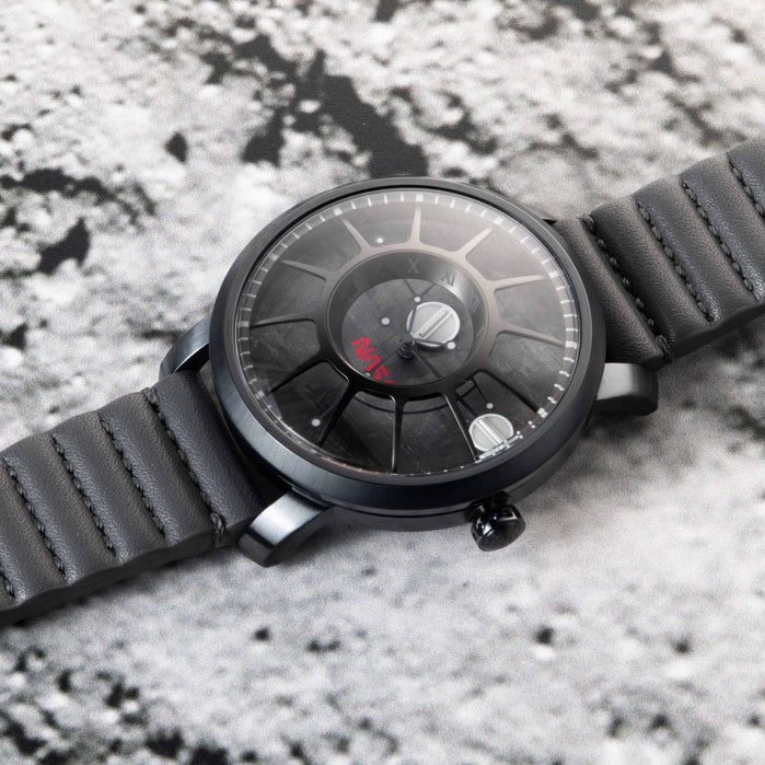 Xeric Trappist-1 Automatic NASA Edition Meteorite angled shot picture