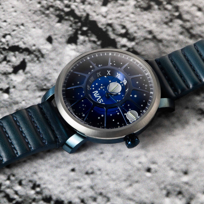 Xeric Trappist-1 Automatic NASA Edition Neutron Star angled shot picture