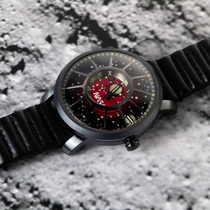 Xeric Trappist-1 Automatic NASA Edition Red Dwarf angled shot picture