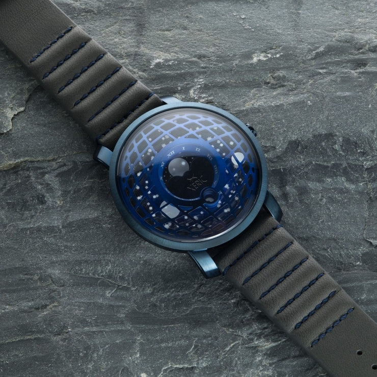 Xeric Trappist-1 Moonphase Blue Gray