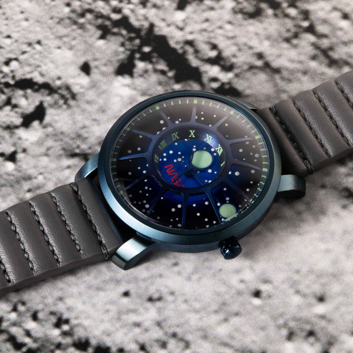 Xeric Trappist-1 NASA Edition Blue Supernova angled shot picture