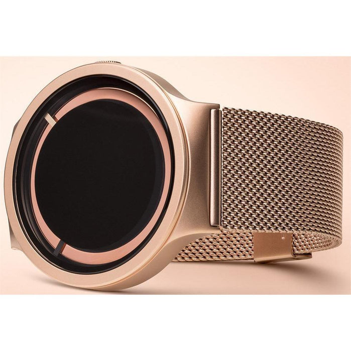 Ziiiro Eclipse Metallic Mesh Rose Gold Limited Edition angled shot picture