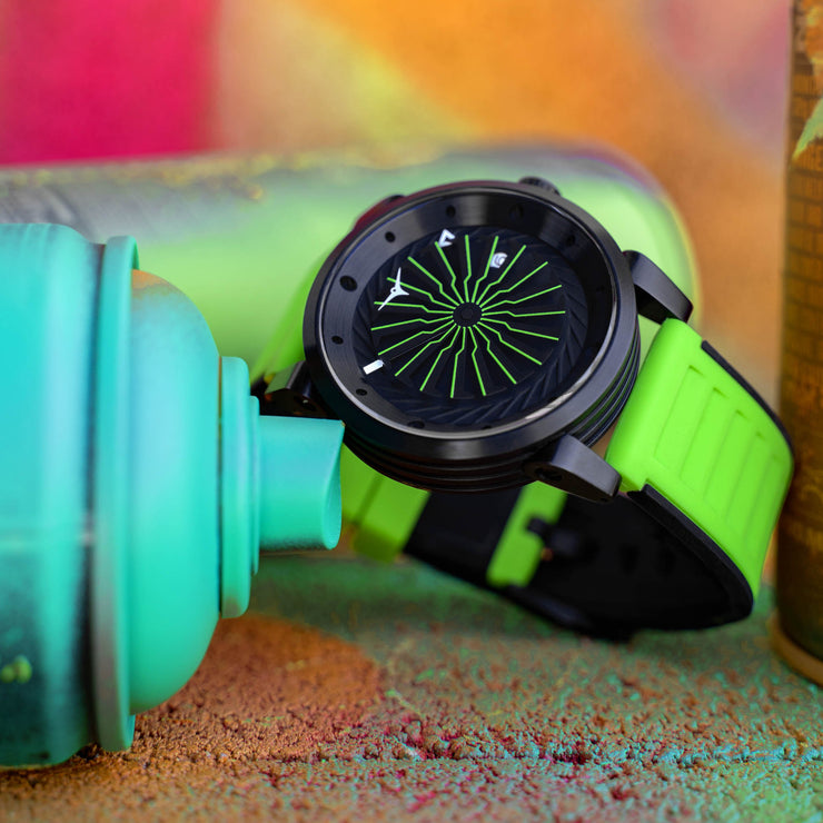Zinvo Blade Automatic Acid Green Limited Edition