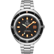 Zodiac Super Sea Wolf 68 SS Automatic Black Silver
