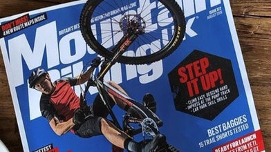 Akrigg Graces the Cover of Mountain Biking UK