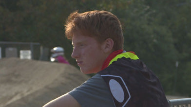 Young BMX Racer Donates Bike Savings to Fire Victims