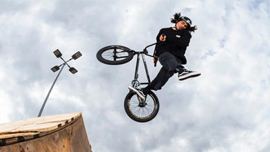 Kevin Peraza Wins BMX Triple Challenge Event!