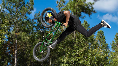 Mykel Larrin 'Beyond Excited' to Join Team Mongoose!