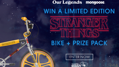 Win a Stranger Things Max Bike + Prize Pack!