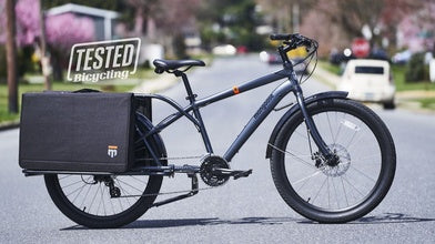 Bicycling Reviews the Envoy Cargo Bike
