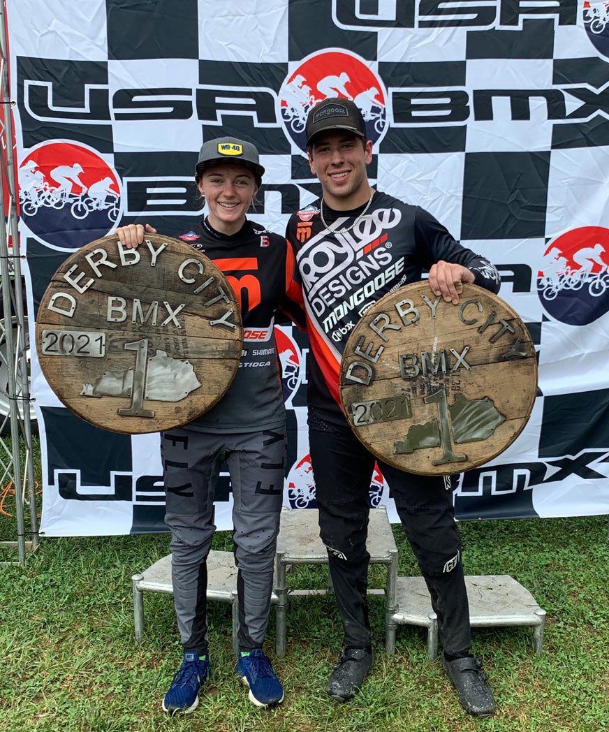Cam and Payton at Derby City Nationals
