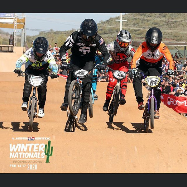 Cam Wood takes 2nd at 2020 USA BMX Winter Nationals