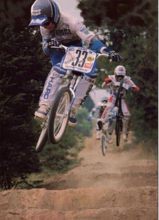 Eric Rupe BMX Legend Leading the Pack