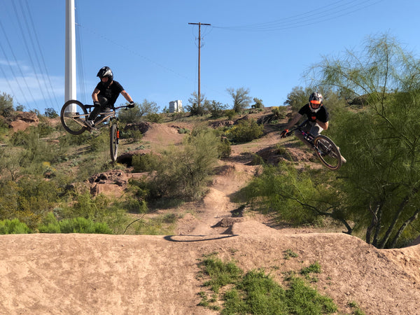 Justin Posey and Cam Wood on MTB