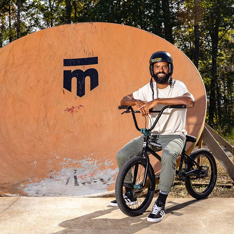 BMX pro Mykel Larrin joins Team Mongoose