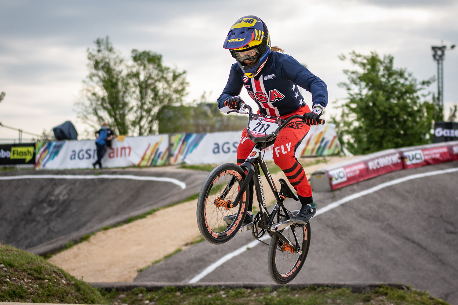 Payton Ridenour at UCI World Cup in Colombia