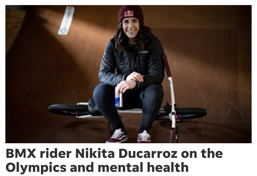 USA Today interviews Mongoose BMX pro Nikita Ducarroz