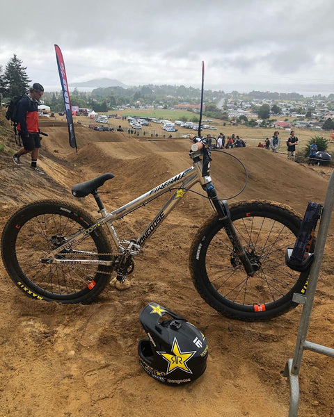 Greg Watts Mongoose Fireball SS dirt jumper
