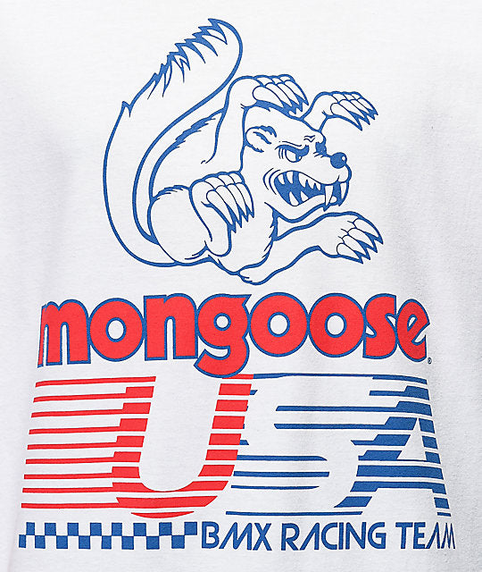 Our Legends x Mongoose USA White T-Shirt
