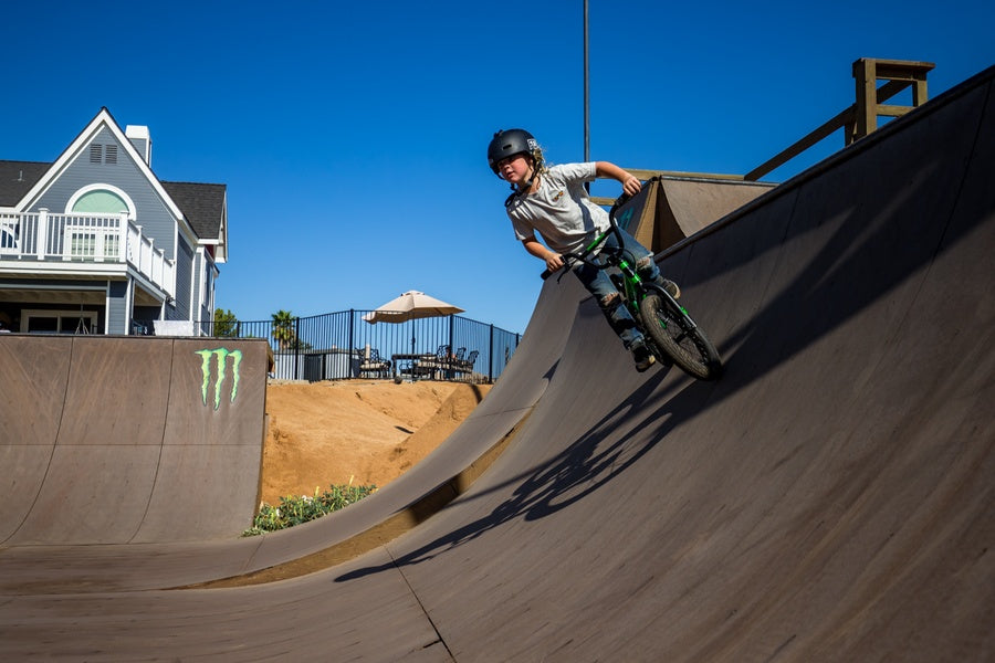 Reid Casey on his Legion L16 freestyle BMX bike