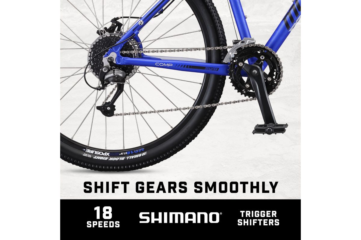 Switchback Comp 27.5 shift smoothly with shimano