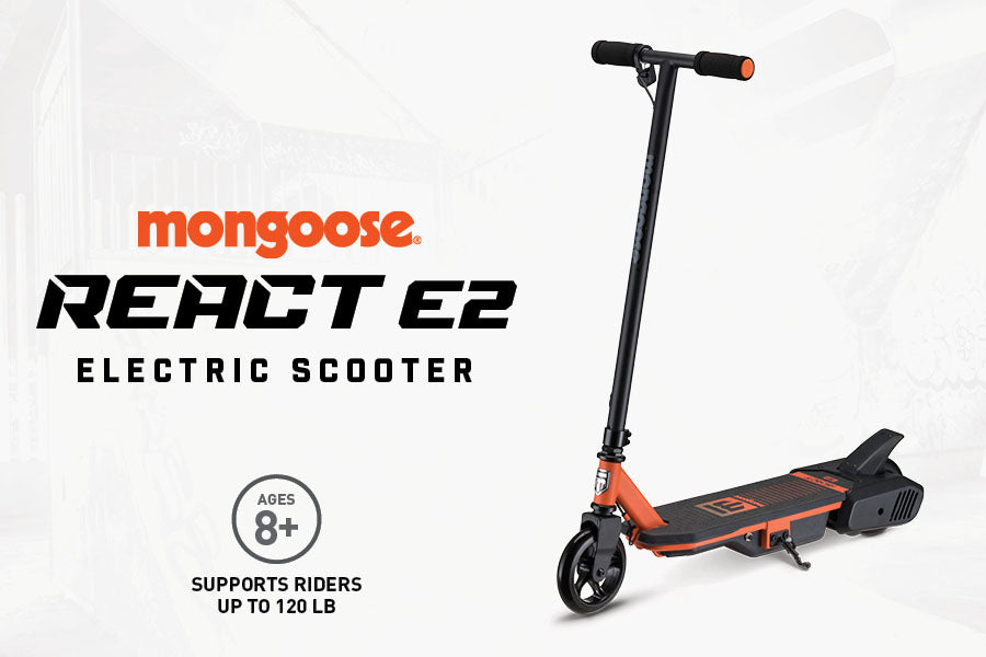 Mongoose React E2 Kids Electric Scooter